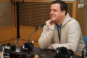 Martin Šmok, photo: Alžběta Švarcová, Czech Radio