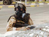 Czech anti-chemical unit, photo: CTK