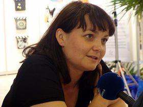 Alžběta Šáchová, photo: archive of Radio Wave