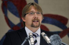 Pavel Dobeš při otevření pražského centra agentury GSA, foto: ČTK