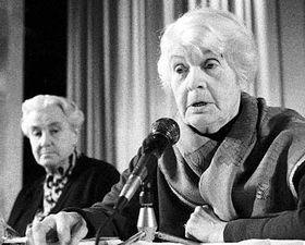 Anna Masaryková (vpravo) aHerberta Masaryková, foto: ČTK