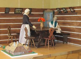 The exhibition at the Chateau Kačina