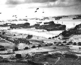 Beaches of Normandy, photo: U.S. National Archives