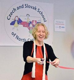 Marta McCabe, photo: archive of Czech and Slovak School of North Carolina