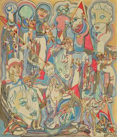 'Le pentacle non-accompli', 1947, photo: Galerie Kodl / GHMP