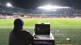 Mladá Boleslav - Sparta Prague. Video referee Roman Hrubeš, photo: CTK