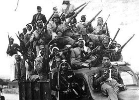 Voluntarios árabes. Foto: public domain