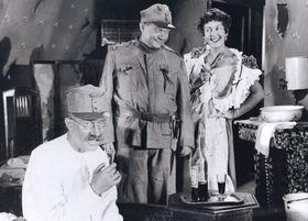 Rudolf Hrušínský jako Švejk, foto: archiv Státního fondu pro podporu arozvoj české kinematografie