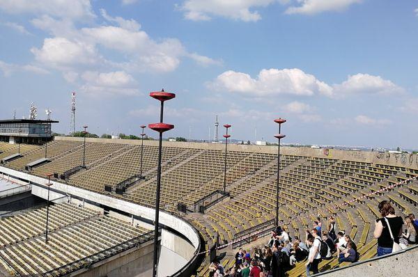 Le stade de Strahov, photo: Štěpánka Budková