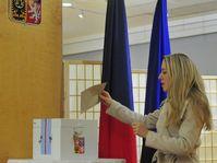 Volba prezidenta České republiky probíhá i v USA, foto: ČTK