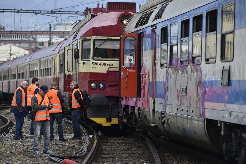 Un accidente cerca de laciudad de Brno, foto: ČTK/Václav Šálek