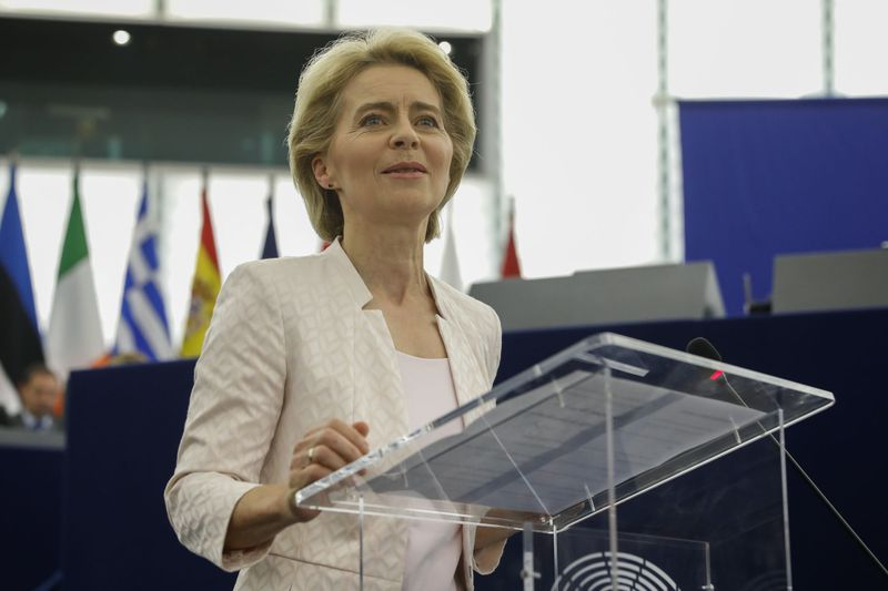 Ursula von der Leyen, foto: ČTK/AP/Jean-Francois Badias