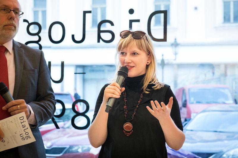 Barbora Baronová, photo: Anna Pleslová / Czech Centres