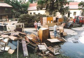 Museo de Bohemia Central en Roztoky - agosto de 2002