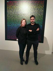 Los comisarios de la muestra Olga Subirós y José Luis Vicente, foto: Dominika Bernáthová