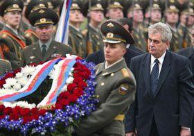 Милош Земан в Москве (Фото: ЧТК)