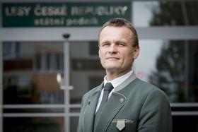 Václav Lidický, el director técnico de la empresa pública Bosques de la RCh, foto: LESY ČR