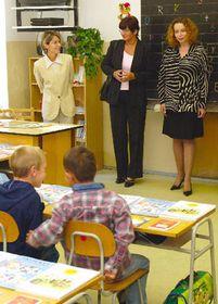 Education Minister Petra Buzkova (right), photo: CTK