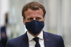 Emmanuel Macron, photo: ČTK/AP/Ludovic Marin