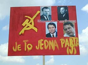 1. máj bez komunistů na Letné, foto: Martina Schneibergová