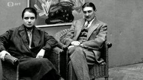 Toyen avec Jindřich Štyrský, photo: ČT Art