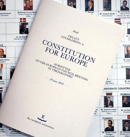 Constitución de la Unión Europea, foto: CTK