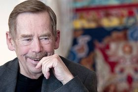 Václav Havel, photo: Filip Jandourek, ČRo
