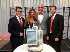 De izquierda: Gustavo Guidobono, Yvetta Blanarovičová, Alejandro Martin Alvarez y Javier Estefanell, foto: Hotel Barceló
