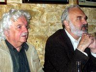 Ladislav Smoljak a Zdeněk Svěrák, foto: Autor