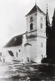 Alte Kirche in Poštorná (Fotoarchiv von Miroslav Geršic)