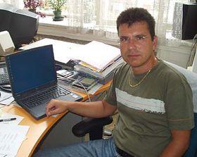 Správce počítačové sítě ČRo Pavel Bureš, foto: Autor