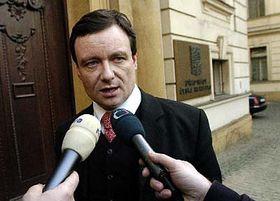 Ministr zdravotnictví David Rath, foto: ČTK