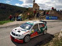 Jan Kopecky's Skoda Fabia, photo: CTK
