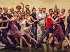 En Buenos Aires con alumnos y bailarines, foto: © Yael Szmulewicz