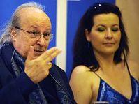 Eliahu Inbal et la soprano Adrienna Miksch, photo: CTK