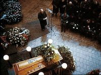Palach's funeral, photo: Security Services Archive