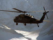 Black Hawk UH-60, foto: Martin Dorazín, ČRo