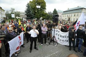 Workers Party for Social Justice gathering in Nový Bor, September 10, 2011, photo: CTK