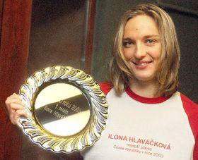 Vicemistryně světa ze závodu na 50 metrů znak Ilona Hlaváčková, foto: ČTK