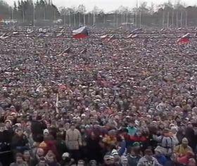 'Samtene Revolution' (Foto: Tschechisches Fernsehen)