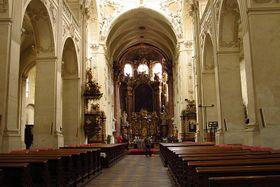 Kostel Nejsvětějšího Salvátora, photo: Kristýna Maková
