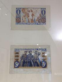 «Alegoría de la libertad» y «Alegoría de las legiones», 1919. Propuestas no realizadas de František Kupka, foto: Ana Briceño