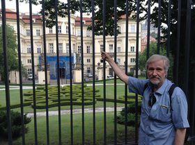 Antonín Nový po 25 letech na stejném místě, foto: Gerald Schubert