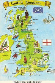 Vereinigtes Königreich Großbritannien und Nordirland - Spojené království Velké Británie a Severního Irska (Foto: Roos Postcards, Flickr, CC BY-NC 2.0)