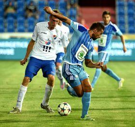 A pesar de haber puntuado en el partido contra el Mladá Boleslav, el Baník sigue siendo colista de la clasificación. (Foto: ČTK)