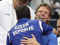 Radek Štěpánek et Tomáš Berdych, photo: CTK