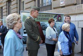 Le vernissage de l'exposition 'Les femmes sur les champs de bataille et dans les bases arrière', photo: Vlastimila Cyprisová / Army.cz