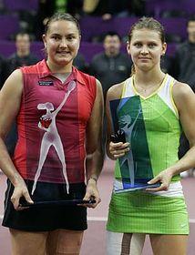 Nadia Petrova and Lucie Safarova, photo: CTK