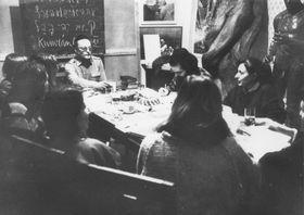 Underground seminars, photo: Courtesy of the Jan Hus Educational Foundation