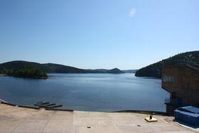 Represa de Orlík, foto: Štěpánka Budková